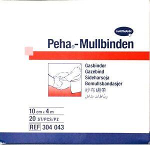 PEHA Mullbinden (kein MHD) 10 cm x 4 m 1 STK (S-HAR304043_800525499-21)