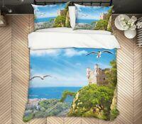 3D Seagull Forest ZHUA1466 Bed Pillowcases Quilt Duvet Cover Set Queen King Zoe