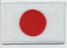 Japanese Flag High Quality Embroided Iron On / Sew On Patch Badge JAPAN Nippon