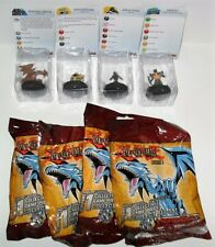 HEROCLIX YU-GI-OH SERIES 1 LOT OF (4) CARDS ARE DAMAGED #F JUST AS PICTURED