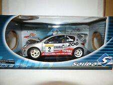 Solido Peugeot 206 WRC Gronholm 2002 Rally Monte Carlo