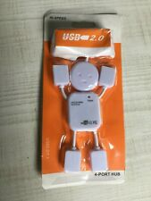 NEW 4 Port High Speed USB 2.0 Splitter Adapter Hub with Cable