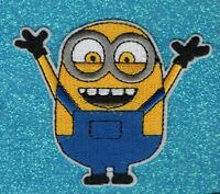 Minion embroidery patch