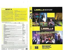 Les Mills Body Jam 66 Complete DVD, CD, Case and Notes