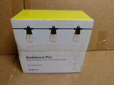 Brightech Ambience Pro Solar Powered LED Outdoor Patio Deck String Lights 27'