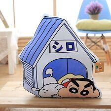 Stuffed Anime Crayon Shin-chan House Pillow Cushion Plush Doll Toy Birthday Gift