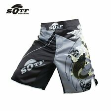 Mma Fight Shorts Grappling Boxing Muay Thai Kick Bjj Training Gym Wear Short Uk