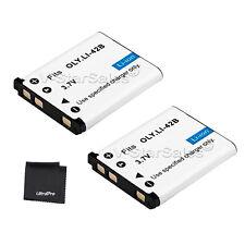 2x LI-42B LI42B Battery + BONUS for Olympus Stylus 700 710 720SW 725 820