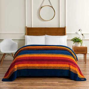 Pendleton Sherpa Fleece Blanket - GRAND CANYON (Select Size: Twin, Queen, King)