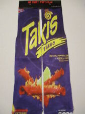 TAKIS fuego socks BUY any 3 pairs GET 4th PAIR FREE pop culture novelty skater