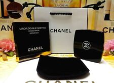 "CHANEL Beauty Compact Miroir Double Facettes Mirror ✰☾"" Box & Paper Gift Bag ""☽✰"