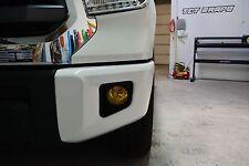 Toyota Tundra Fog Light Tint Yellow Overlays wraps 2014-2018
