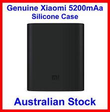 Genuine Soft Silicone Cover Black for Xiaomi 5200mAh Power Bank