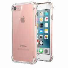 For Apple iPhone 8 7 ShockProof Gel Case Cover Clear Protective Slim Silicone