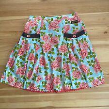 MATILDA JANE Floral Skirt Pockets Size 10 EUC