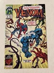 Venom: Lethal Protector 5 Marvel 1993 1st Phage Agony Riot Lasher NM High Grade