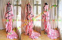 Gothic Lolita Cosplay Kleid Chobits Maßanfertigung B12