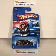 #4  Honda Civic Type R #133 * BLACK w/ FTE rims * 2006 Hot Wheels * HA16