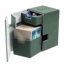 Ultimate Guard Flip N Tray Scatola Magic Pokemon Deckbox 100 XenoSkin Verde