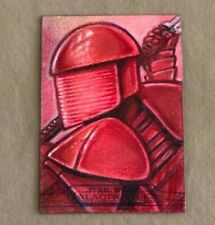 2018 Topps Star Wars Galactic Files sketch card mark finneral