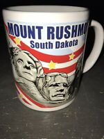 Mount Rushmore South Dakota Collectible Patriotic Coffee Cup Mug