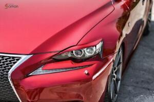 Front Pads for Headlights(Eyelids Covers) for Lexus IS III Gen 2013-2016 XE30