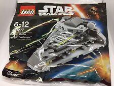LEGO STAR WARS FIRST ORDER STAR DESTROYER 30277 POLYBAG - NEW