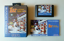 TAZ IN ESCAPE FROM MARS SEGA MEGADRIVE GENESIS PAL