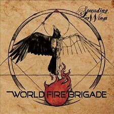 New sealed Spreading My Wings  by World Fire Brigade CD,  Frostbyte