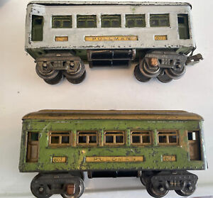 2Lionel  Pullman  VINTAGE scale Sleepers CAB'S #607 1940'sSTILL WORKS