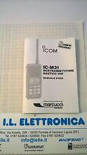 MANUALE IN ITALIANO istruzioni d'uso per ICOM IC-M31