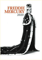 2020 Wall Calendar [12 pages A4] Freddie Mercury Queen Music Photo Poster M1177