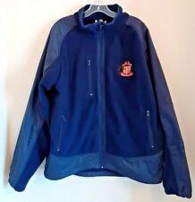 Sunderland AFC Official Clubwear Blue size L Warm Fleece Jacket padded arms