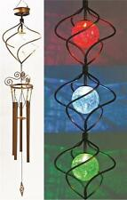 NEW HEADWIND 830-1317 SOLAR LIGHTED SPIRAL CHANGING COLORS WIND CHIME 0080093