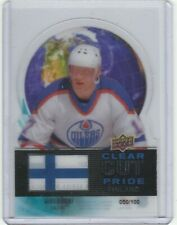 2012-13 Upper Deck Clear Cut Pride #6 Jari Kurri /100
