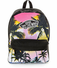 Vans PALM PHOTO Backpack (NEW) School Bag REALM Ocean Beach Trees  FREE SHIPPING
