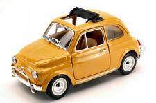 Fiat 500L Giallo  1968 Burago 1:24 BU22099Y