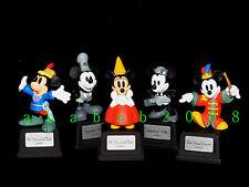 Yujin Disney Mickey Family Pt.1 Gashapon Figure (full set of five figures) Rare