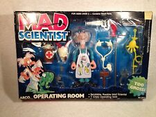 Mattel Arco Mad Scientist Operating Room Complete Set MIB 1987 Scarce
