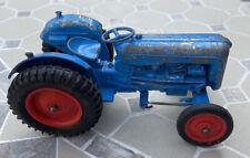 VINTAGE CRESCENT TOYS FARM FARMING TRACTOR DIECAST BLUE