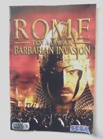 49850 Instruction Booklet - Rome Total War Barbarian Invasion - PC (2005)