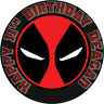 Deadpool Personalised Edible REAL Icing Image Birthday Cake Toppers