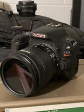 Canon EOS Rebel SL2 24.1MP DSLR Camera - Black (with 18-55mm lens)