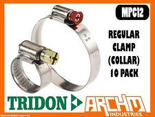 TRIDON MPC12 REGULAR CLAMP COLLAR 10 PC 255MM-280MM MULTIPURPOSE PART STAINLESS