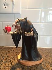 WDCC SNOW WHITE EVIL WITCH  TAKE THE APPLE, DEARIE