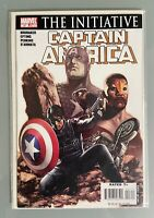 Captain America vol 5 #27 MARVEL COMICS THE INITIATIVE FALCON WINTER SOLDIER