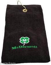 New McDermott Clover Towel - Pool Cue Towel - Grommet & Case Hook - #90-TOWEL