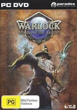 Warlock Master of the Arcane PC Game PC 100% Brand New
