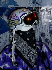 SNOWBANDITS FACE MASK Ski Snowboard   Bandana & Fleece MADE IN USA Many  Colors