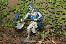 Retired Schleich Medieval Griffin Knight with Axe Figurine